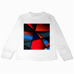3d And Abstract Kids Long Sleeve T-Shirts