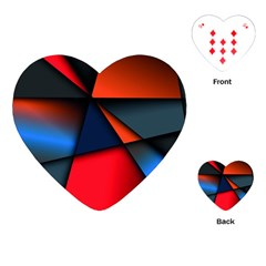 3d And Abstract Playing Cards (Heart)