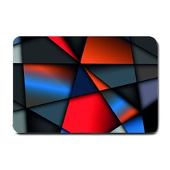 3d And Abstract Small Doormat