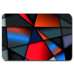 3d And Abstract Large Doormat