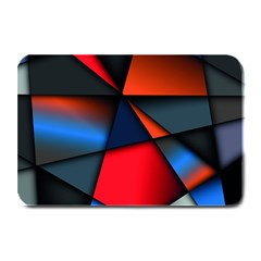 3d And Abstract Plate Mats