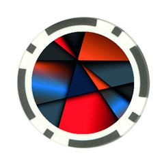 3d And Abstract Poker Chip Card Guard