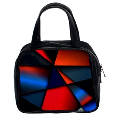 3d And Abstract Classic Handbags (2 Sides)