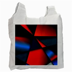 3d And Abstract Recycle Bag (Two Side)