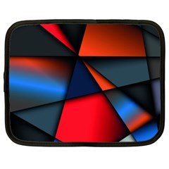 3d And Abstract Netbook Case (XL)