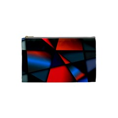 3d And Abstract Cosmetic Bag (Small)