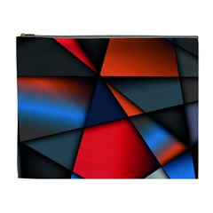 3d And Abstract Cosmetic Bag (XL)