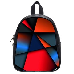 3d And Abstract School Bags (Small)
