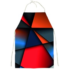 3d And Abstract Full Print Aprons