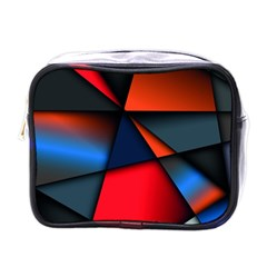 3d And Abstract Mini Toiletries Bags