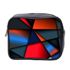 3d And Abstract Mini Toiletries Bag 2-Side