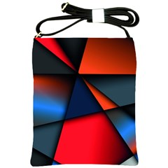 3d And Abstract Shoulder Sling Bags