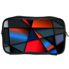 3d And Abstract Toiletries Bags 2-Side