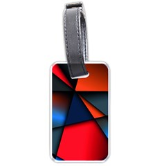 3d And Abstract Luggage Tags (One Side)