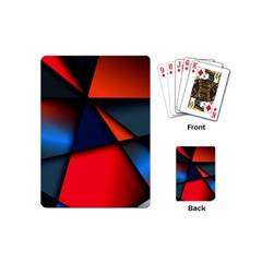3d And Abstract Playing Cards (Mini)