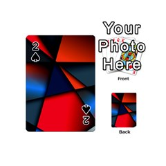 3d And Abstract Playing Cards 54 (Mini)