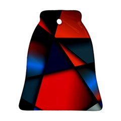 3d And Abstract Bell Ornament (Two Sides)