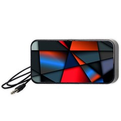 3d And Abstract Portable Speaker (Black)