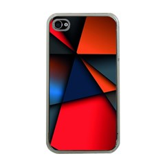 3d And Abstract Apple iPhone 4 Case (Clear)