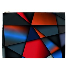 3d And Abstract Cosmetic Bag (XXL)