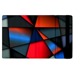 3d And Abstract Apple iPad 2 Flip Case