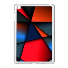3d And Abstract Apple iPad Mini Case (White)