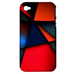 3d And Abstract Apple iPhone 4/4S Hardshell Case (PC+Silicone)