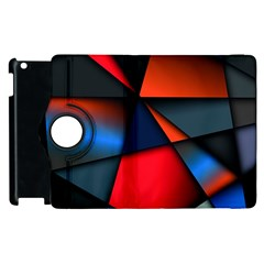 3d And Abstract Apple iPad 3/4 Flip 360 Case
