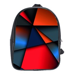 3d And Abstract School Bags (XL)