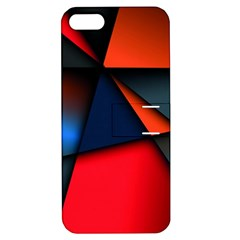 3d And Abstract Apple iPhone 5 Hardshell Case with Stand