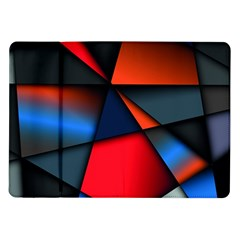 3d And Abstract Samsung Galaxy Tab 10.1  P7500 Flip Case