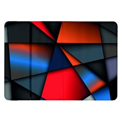 3d And Abstract Samsung Galaxy Tab 8 9  P7300 Flip Case