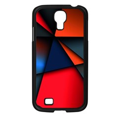 3d And Abstract Samsung Galaxy S4 I9500/ I9505 Case (Black)
