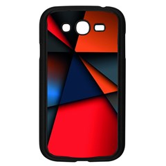 3d And Abstract Samsung Galaxy Grand DUOS I9082 Case (Black)