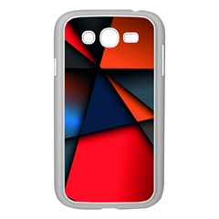 3d And Abstract Samsung Galaxy Grand DUOS I9082 Case (White)