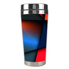 3d And Abstract Stainless Steel Travel Tumblers