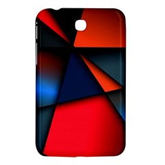 3d And Abstract Samsung Galaxy Tab 3 (7 ) P3200 Hardshell Case