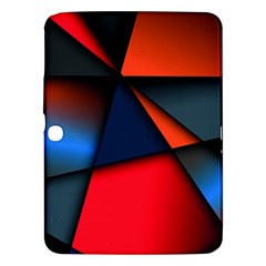 3d And Abstract Samsung Galaxy Tab 3 (10.1 ) P5200 Hardshell Case