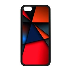 3d And Abstract Apple iPhone 5C Seamless Case (Black)
