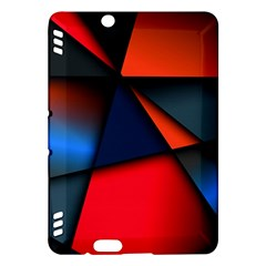 3d And Abstract Kindle Fire HDX Hardshell Case