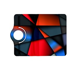 3d And Abstract Kindle Fire HD (2013) Flip 360 Case