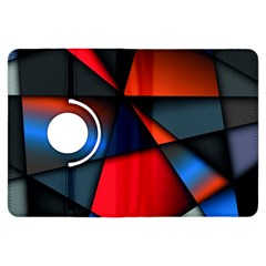 3d And Abstract Kindle Fire HDX Flip 360 Case