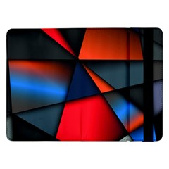 3d And Abstract Samsung Galaxy Tab Pro 12 2  Flip Case
