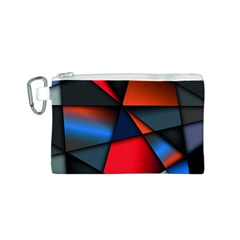 3d And Abstract Canvas Cosmetic Bag (S)