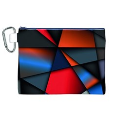 3d And Abstract Canvas Cosmetic Bag (XL)