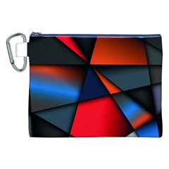 3d And Abstract Canvas Cosmetic Bag (XXL)