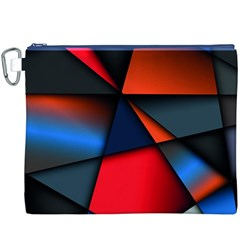 3d And Abstract Canvas Cosmetic Bag (XXXL)