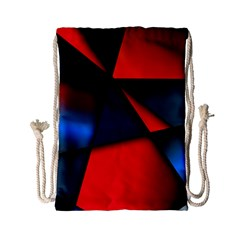 3d And Abstract Drawstring Bag (Small)