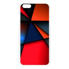 3d And Abstract Apple Seamless iPhone 6 Plus/6S Plus Case (Transparent)