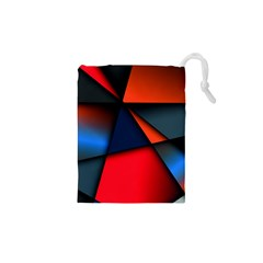 3d And Abstract Drawstring Pouches (XS)
